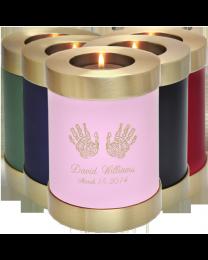 Candle Holder Brass Urn