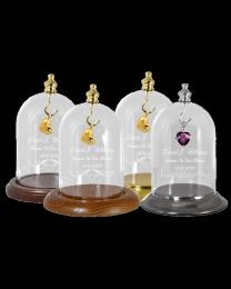Engravable Glass Display Dome