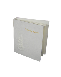 Eco-Friendly Funeral Guest Book