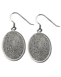 Personalized Sterling Silver Earrings