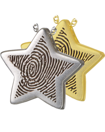 Personalized Slide Star Pendant