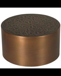 Florentine Copper Cremation Urn