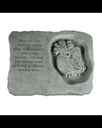 """Those We Love..."" Angel Garden Memorial Stone"