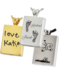Personalized Perfect Rectangle Pendant