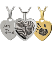 Personalized Petite Classic Heart