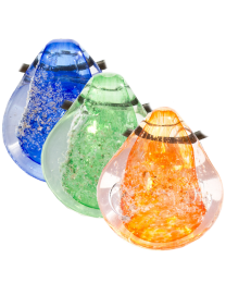 Solid Galaxy cremation keepsake in assorted colors
