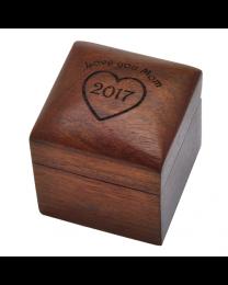 Wooden Keepsake Urn