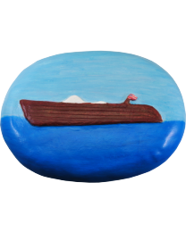 Spirit of the Sea Wooden Boat Eco Urn