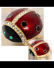 Ladybug Jewelry Keepsake Box