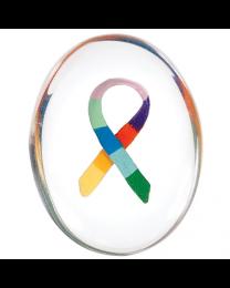 Awareness Ribbon Comfort Stone 12 pack