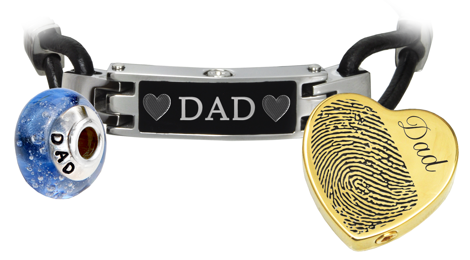memorial jewelry that holds ash for dad