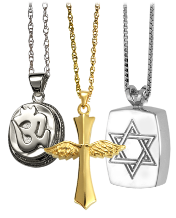 Cremation Crosses | Ashes | Necklace | Religious Jewelry| Memorial