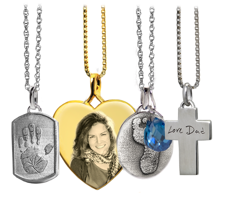 non-ash-holding memorial jewelry